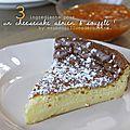 Cheesecake soufflé avec seulement 3 ingrédients