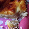 Tarte pomme-mascarpone
