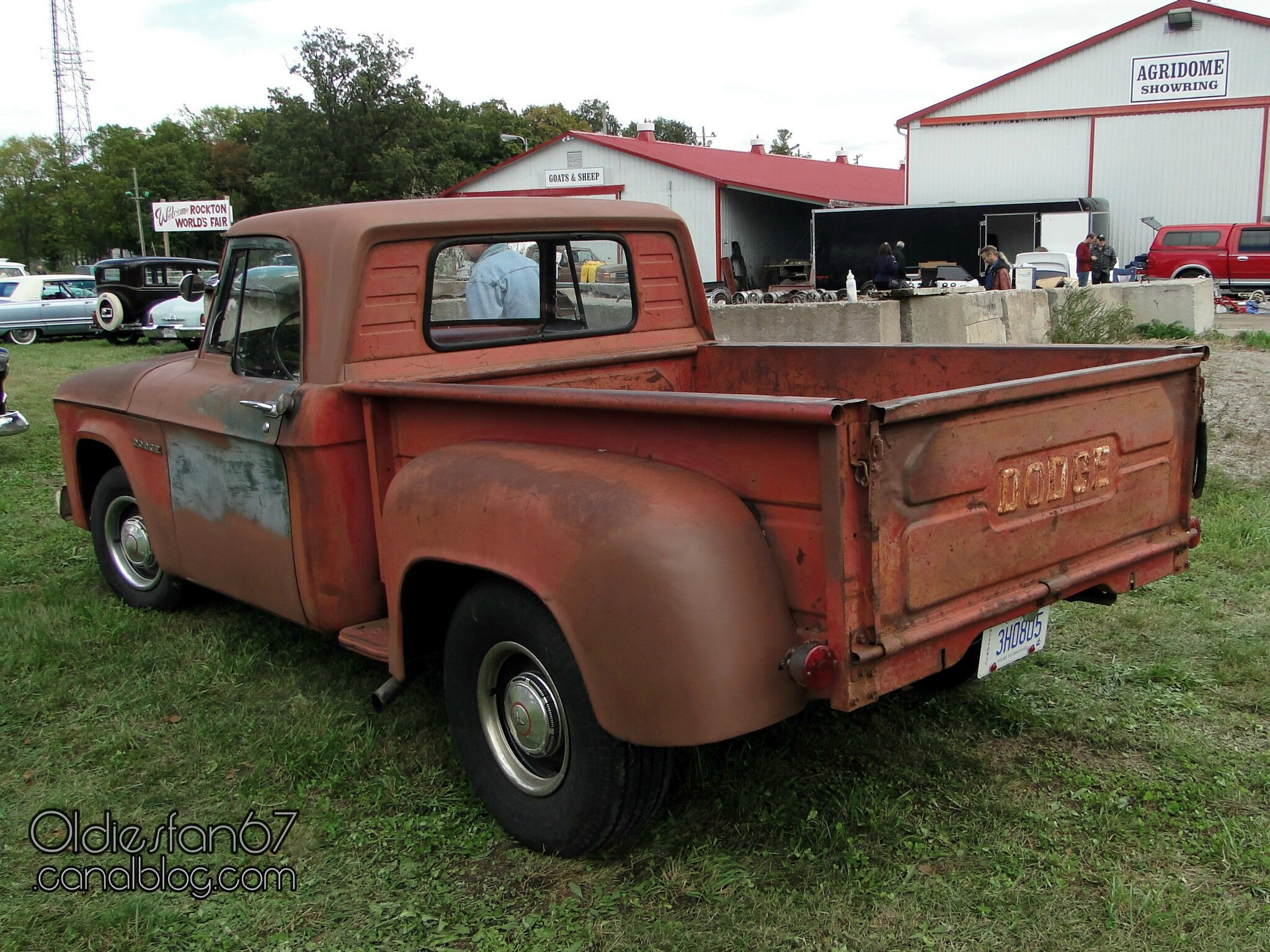 Dodge D100 Short Bed Stepside 1961 1964 Oldiesfan67 Quot Mon
