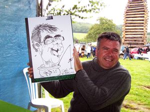 Caricature en direct JOYEUX
