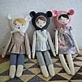 Les petites poupées de nun studio ♥