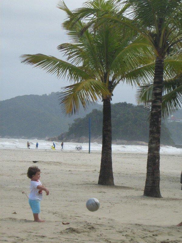 entrainement a la plage