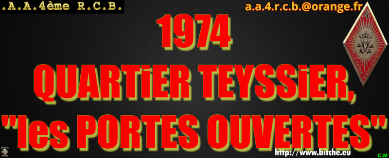 1974 QUARTiER TEYSSiER les PORTES OUVERTES