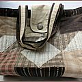 Un sac patchwork style country