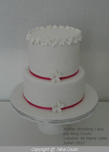 Atelier Wedding Cake- Marie Odile/ Juillet 2012