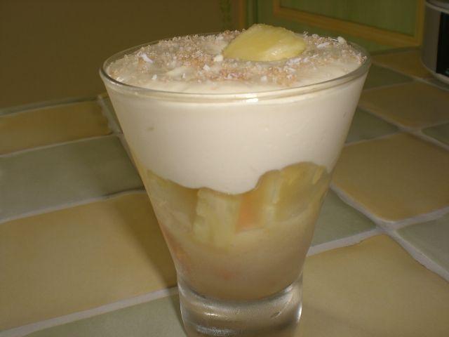 coupe tiramisu a l ananas frais la cuisine de m 233 l