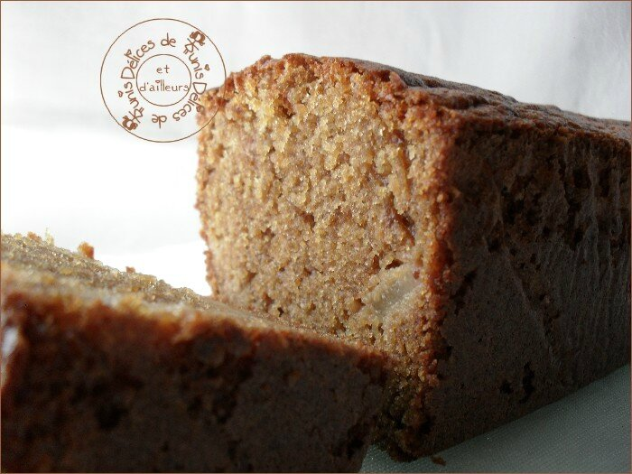 cake poires - speculoos 3