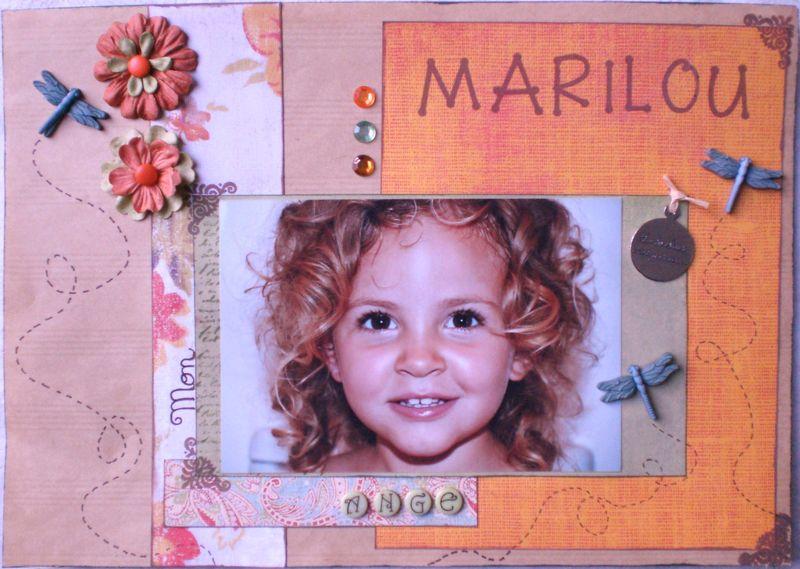 Marilou mon Ange
