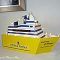 Urne bateau corsica ferries
