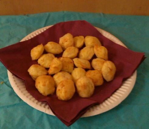 Madeleines dinde fromage