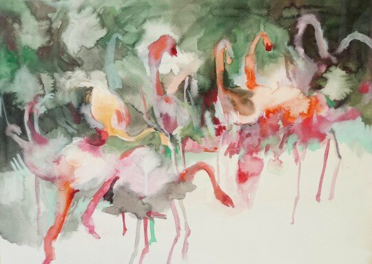 Makiko-Furuichi-flamand rose