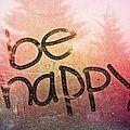 Aujourd'hui, je suis heureux :