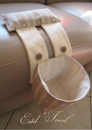 poubelle à fil pour machine à coudre