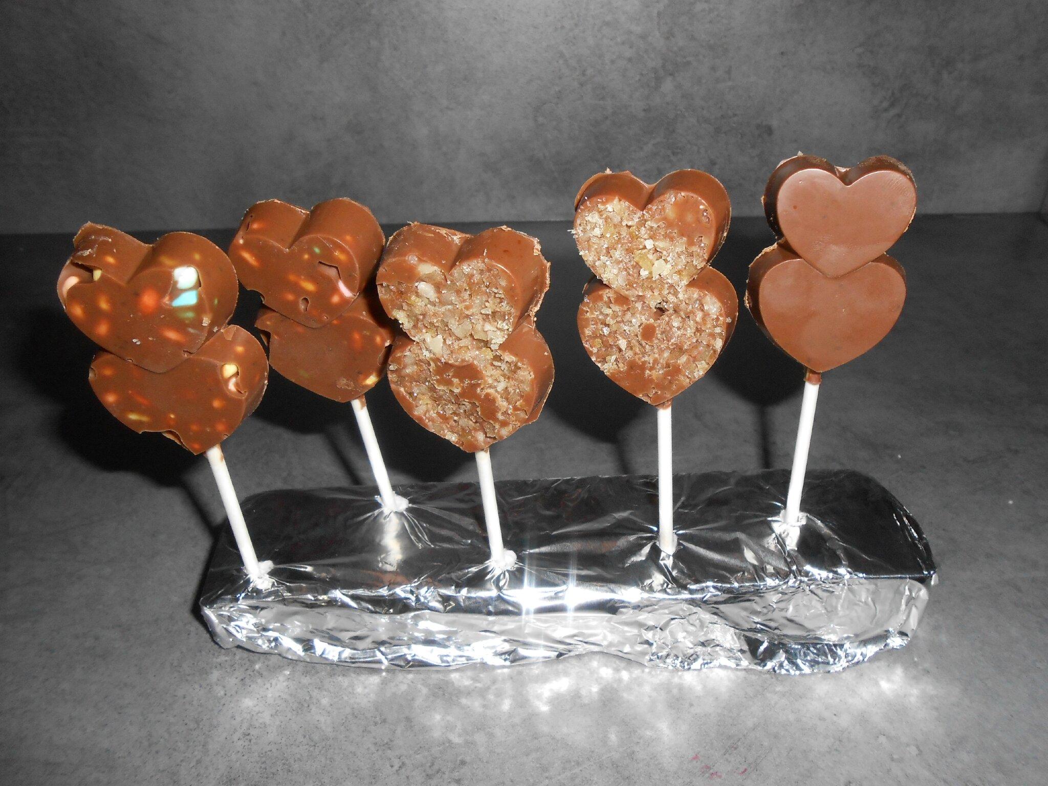 delightful sucette en chocolat avec moule 10 sucettes pour chocolat chaud. Black Bedroom Furniture Sets. Home Design Ideas