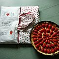 Mon sac à tarte fraise