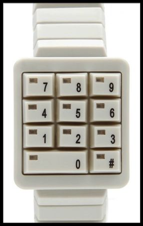Montre Keypad Click Watch Le Blog De Moon