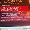 Test crème revitalift filler (l'oréal paris)