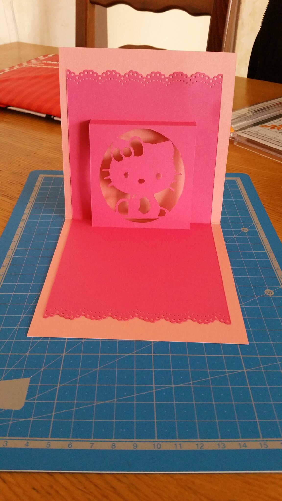 Kirigami Hello Kitty