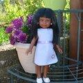 La petite robe en feutrine de nora