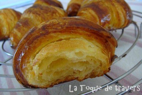 Croissants au beurre un vrai bonheur la toque de travers - Recette croissant au beurre ...