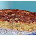 Gâteau invisible aux courgettes