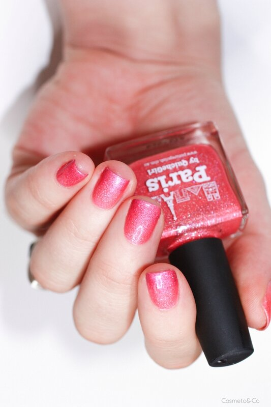 Dégradé Paris Picture Polish Courage Brains Heart CbL-5