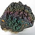 Iridescent goethite /coon creek mine, polk co., arkansas