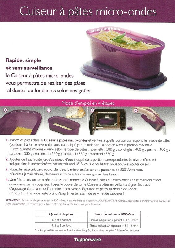 cuiseur a pates tupperware 28 images tupperware cuiseur 224 pates micro ondes 3 0 l violet. Black Bedroom Furniture Sets. Home Design Ideas
