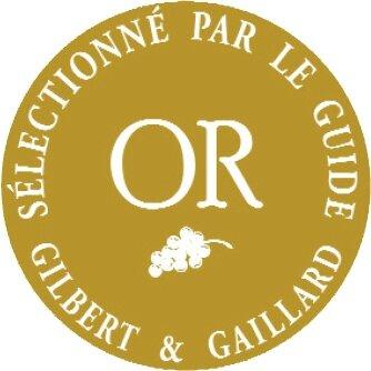 Médaille d'or Gilbert & Gaillard