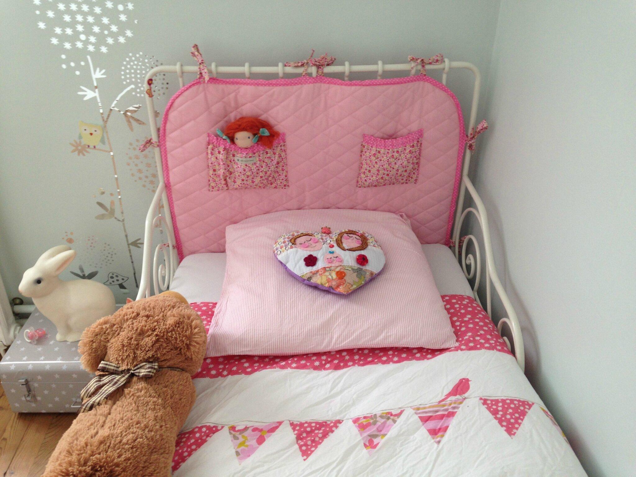 t te de lit de petite princesse abc fait par maman. Black Bedroom Furniture Sets. Home Design Ideas
