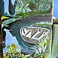 Huile sur toile -17 x 24 -au bord de l'eau -