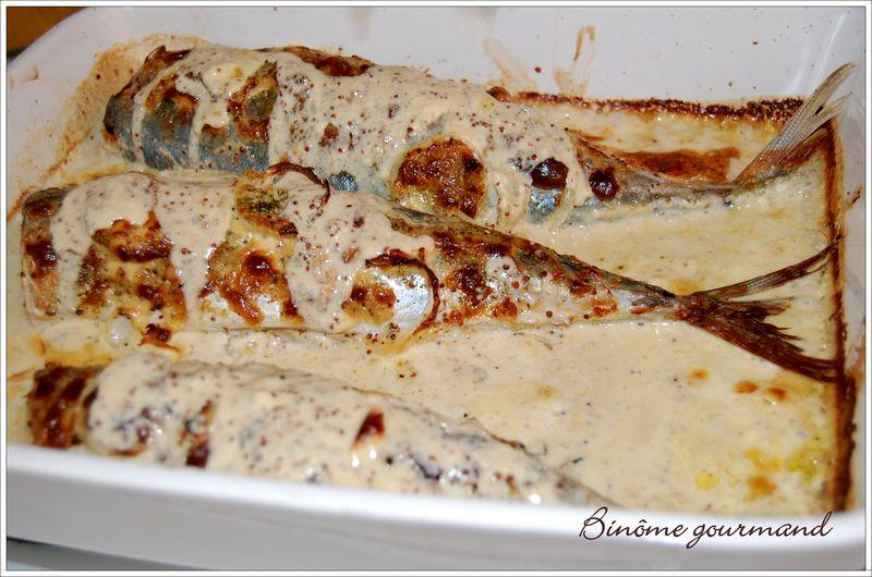 Maquereaux la moutarde l 39 ancienne et l 39 anis vert - Cuisiner des maquereaux ...