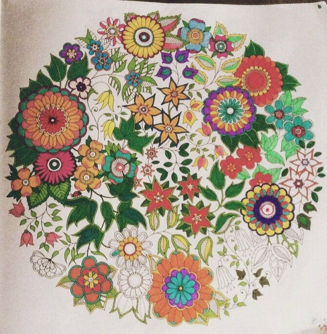 Coloriage Adulte Fini.Coloriage Adulte Termine