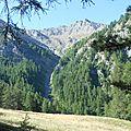 Queyras : Crête de Lamaron, Pic de Cascavelier, Saint-Veyran