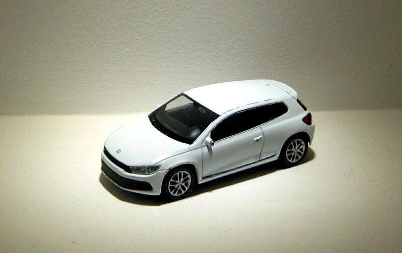 Vw scirocco (ref 44027)(Welly)