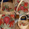 Pour un panier de fraises...