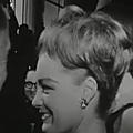 Romy à cannes en 1962