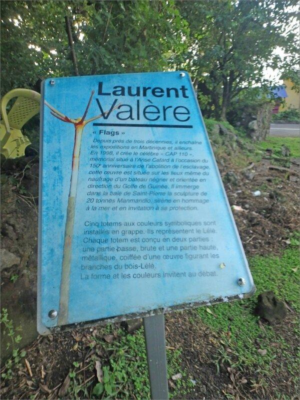 Martinique J1 à 5 stylus 38 aart moderne panneau Laurent Valère flags
