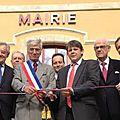 Inauguration de la mairie de pervenchères