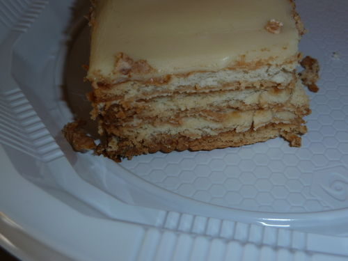 Gateau au the brun de lu