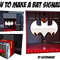 How to make a bat signal ?
