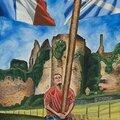 Une peintre américain immortalise les highland games