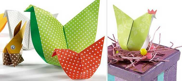 origami_poule