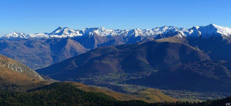 Du sommet du Bazès (1804 m)