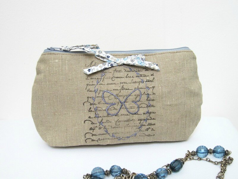 trousse papillon 007