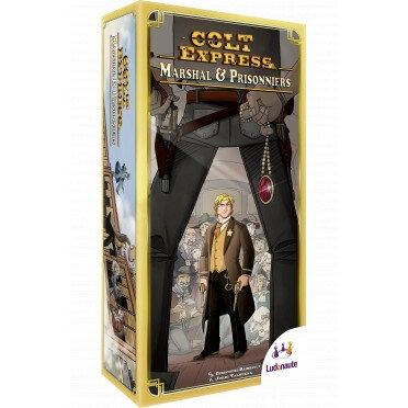 Boutique jeux de société - Pontivy - morbihan - ludis factory - Colt Express extension Marshall et Prisonnier