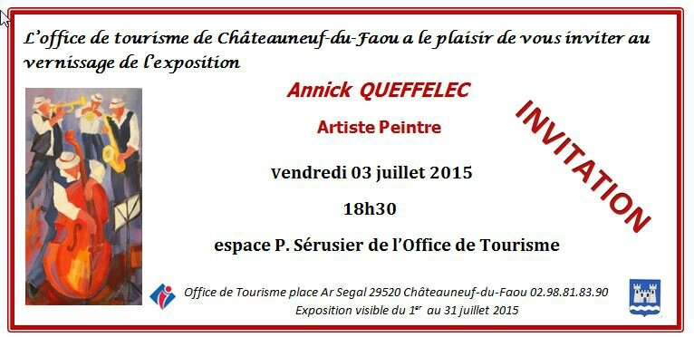 Carton d-invitation Annick Queffelec mail