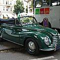 Dkw sonderklasse f91 cabriolet
