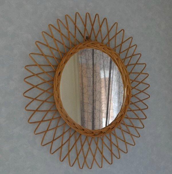 Miroir soleil le grenier de la sorciere for Miroir soleil osier