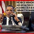 Hollande a la maison blanche